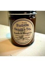 HUDSON CANDLE CO. 9oz SUMMER SCENTED SOY CANDLE