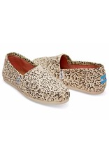 TOMS YOUTH CLASSIC NATURAL BOB CAT SHOE