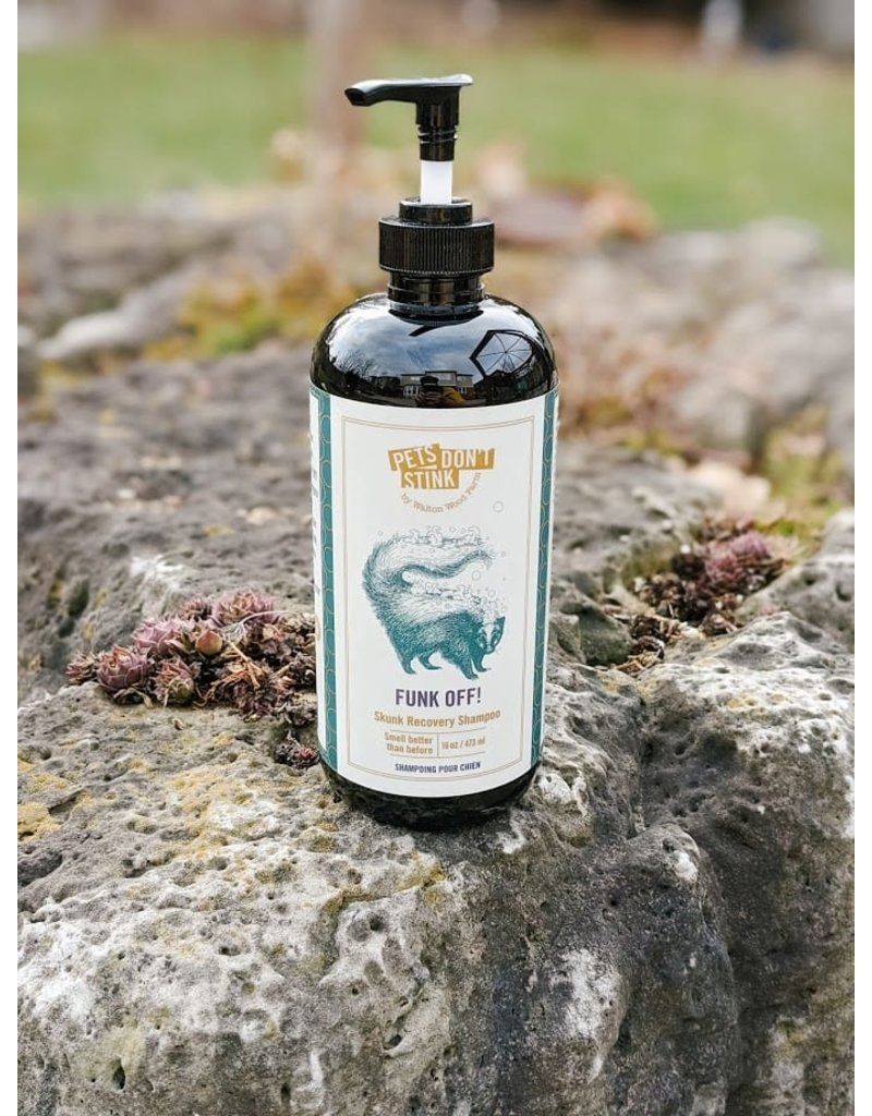 WALTON WOOD FARM FUNK OFF PETS DON'T STINK SHAMPOO