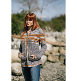 PAPILLON FAIRISLE ZIP JACKET