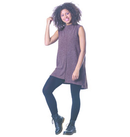 PAPA SLVLESS MOCK TUNIC SWEATER