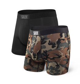 SAXX VIBE BOXER BRIEF - 2 PACK