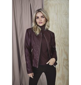 B.YOUNG ACOM FAUX LEATHER JACKET