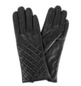 KARLA HANSON WOMENS DELUXE LEATHER GLOVES TOUCH TECH GLOVES