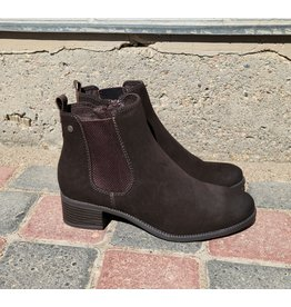LADY COMFORT BECKA BROWN BOOTIE