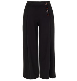 TRIBAL PULL ON CULOTTE PANT w/BUTTON DETAIL