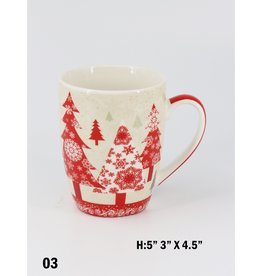 GRAND INT'L CHRISTMAS MUGS