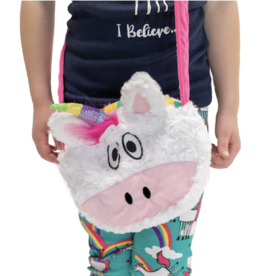 LAZY ONE UNICORN PLUSH PURSE