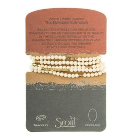SCOUT STONE WRAP BRACELET/NECKLACE