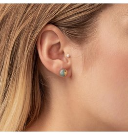 SCOUT DIPPED STONE STUD EARRING