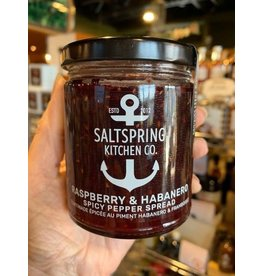 SALTSPRING KITCHEN RASPBERRY, HABANERO SPICY PEPPER SPREAD