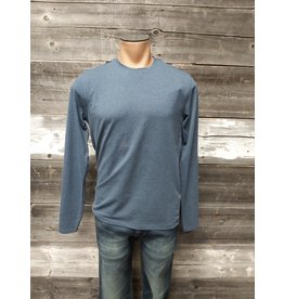 POINT ZERO MENS STRETCH COTTON L/S TOP