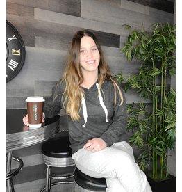 COFFEE SHOPPE CHARCOAL READING LOUNGE HOODY