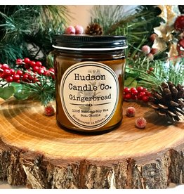 HUDSON CANDLE CO. 9oz WINTER SCENTED CANDLE