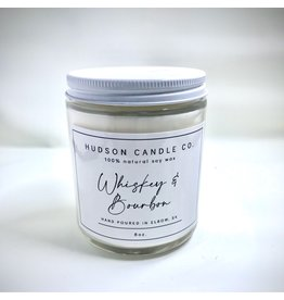HUDSON CANDLE CO. 8oz WINTER SCENTED CANDLE