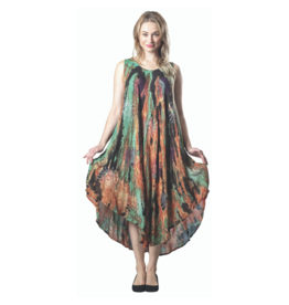 PAPA LONG ONE-SIZE PRINTED TANK DRESS
