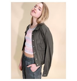 RD STYLE ARMY GREEN LIGHT JACKET