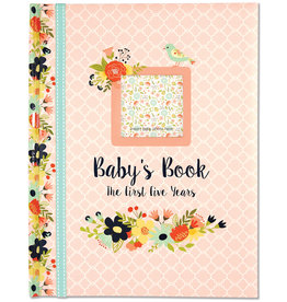 PETER PAUPER PRESS BABYS FIVE YEAR BOOK