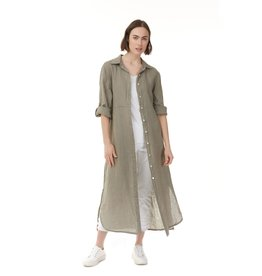 CHARLIE B LINEN DRESS/JACKET