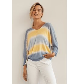 CHARLIE B OMBRE LIGHT KNIT SWEATER