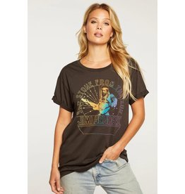 CHASER RECYCLED VINTAGE ROLLED SLV TEE