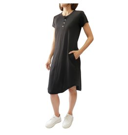 RD STYLE BLACK T-SHIRT DRESS