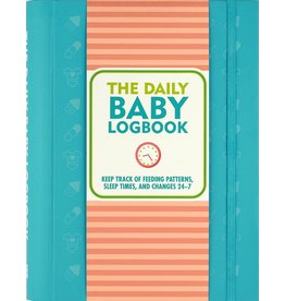 PETER PAUPER PRESS BABY LOGBOOK