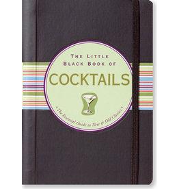 PETER PAUPER PRESS LITTLE BLACK BOOK OF COCKTAILS