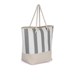 KARLA HANSON STRIPED BEACH BAG