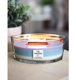 WOODWICK SCENTED TRI  HEARTH WICK CANDLE