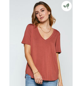 GENTLE FAWN LEWIS V-NECK TEE