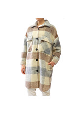RD STYLE PLAID SHACKET 64S