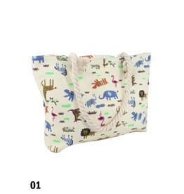 GRAND INT'L ANIMAL CANVAS TOTES