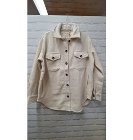 RD STYLE COLLARED SHACKET 049S