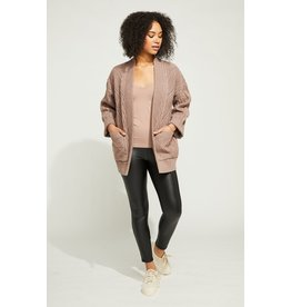 GENTLE FAWN COOPER CABLE KNIT CARDIGAN