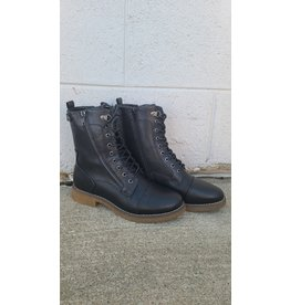 ALBERTO SELKIS BLACK LACE UP BOOT