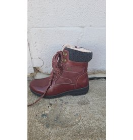 WESTWAY NEITH LACE UP BURGUNDY BOOT