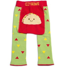INFANT LEGGINGS GREEN/RED TACO 12-24 months