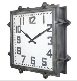 CJ MARKETING SQUARE CLOCK
