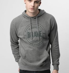 AUTHENTIC BRAVE APPAREL UNISEX STAMP HOODIE