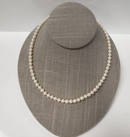 FRESH WATER PEARL NECKLACE- 18""