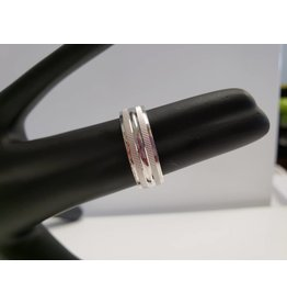 STERLING SILVER BAND - SZ 9