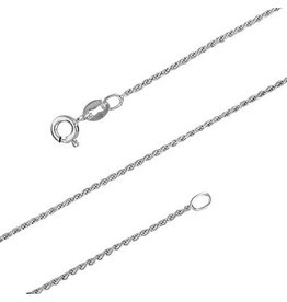 STERLING SILVER ROPE CHAIN -18""