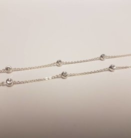STERLING SILVER CHAIN w/BALLS