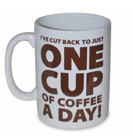 ONE CUP OF COFFEE MUG - HALF GALLON