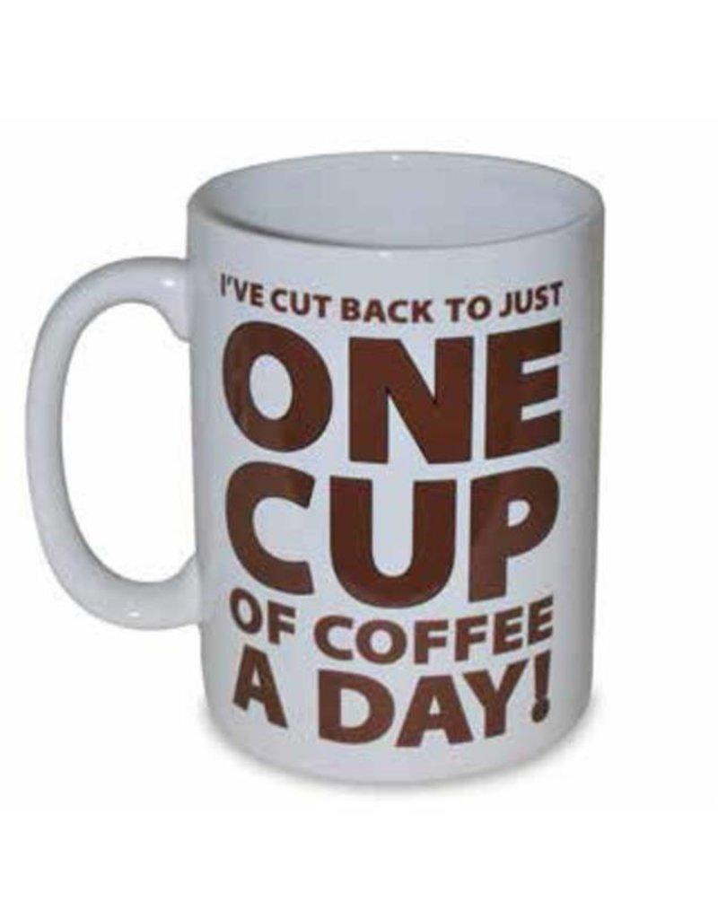 ONE CUP OF COFFEE MUG - HALF GALLON