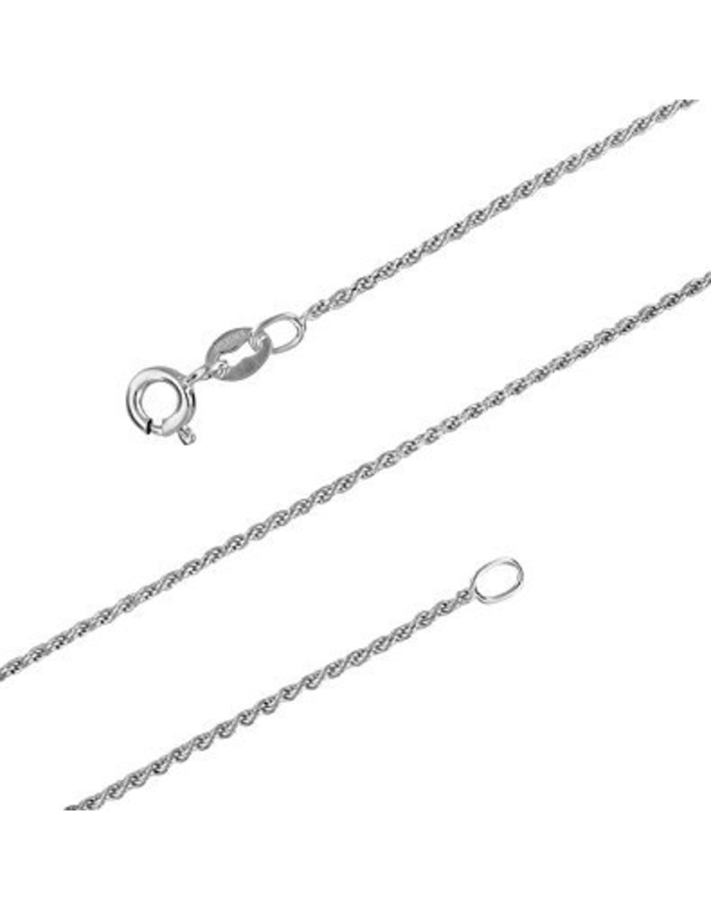 """BIJOUX STERLING SILVER ROPE CHAIN - 20"""""""