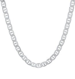 STERLING SILVER FANCY MARINE CHAIN -22""