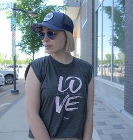 AUTHENTIC BRAVE APPAREL DO ALL THINGS WITH LOVE MUSCLE TEE