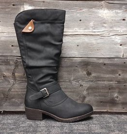 WESTWAY TELLIO BLACK TALL BOOT